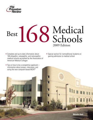 9780375428814: Best 168 Medical Schools, 2009 Edition (Graduate School Admissions Guides)