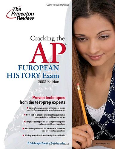 9780375428913: Cracking the AP European History Exam, 2009 Edition (College Test Preparation)