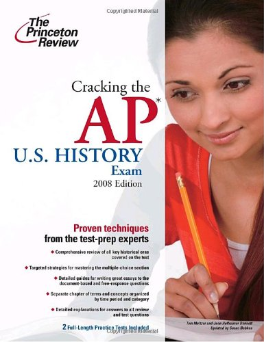 9780375428975: Cracking the AP U.S. History Exam, 2009 Edition (College Test Preparation)