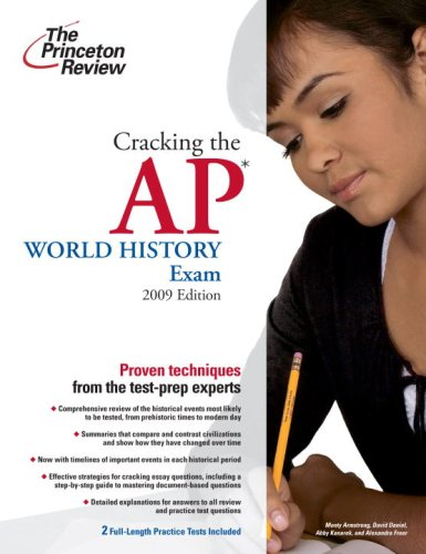 9780375428982: Cracking the AP World History Exam, 2009 Edition (College Test Preparation)
