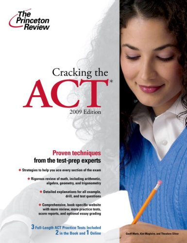 9780375428999: Cracking the ACT (Princeton Review Series)