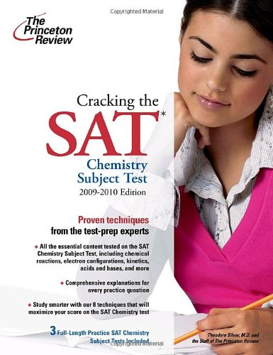 9780375429064: The Princeton Review Cracking the SAT Chemistry Subject Test (Princeton Review Series)