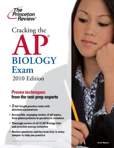 9780375429149: Cracking the AP Biology Exam, 2010 Edition (College Test Preparation)