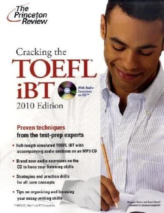 9780375429200: Cracking the TOEFL iBT with CD, 2010 Edition (Test Preparation)