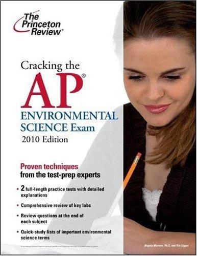 Cracking the AP Environmental Science Exam, 2010: Princeton Review