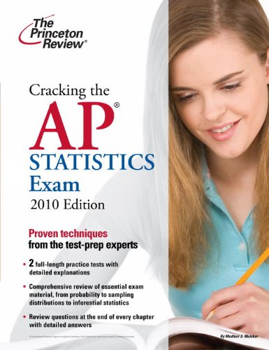 9780375429507: Cracking the AP Statistics Exam, 2010 Edition (College Test Preparation)