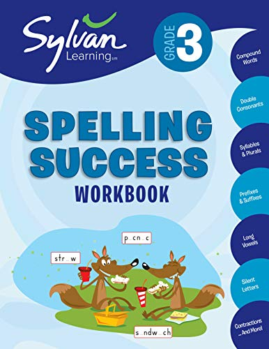 9780375430015: 3rd Grade Spelling Success: Activities, Exercises, and Tips to Help Catch Up, Keep Up, and Get Ahead (Sylvan Language Arts Workbooks)