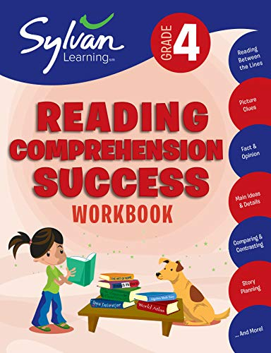 4th-Grade Reading Comprehension Success (Paperback or Softback): Sylvan Learning