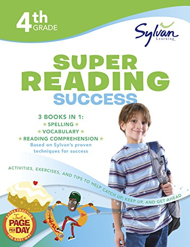9780375430077: 4th Grade Jumbo Reading Success Workbook: Activities, Exercises, and Tips to Help Catch Up, Keep Up, and Get Ahead (Sylvan Language Arts Jumbo Workbooks)