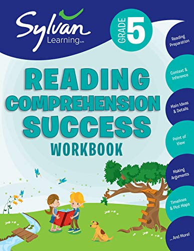 9780375430107: 5th Grade Reading Comprehension Success Workbook: Activities, Exercises, and Tips to Help Catch Up, Keep Up, and Get Ahead (Sylvan Language Arts Workbooks)