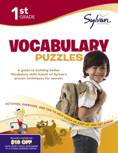 9780375430244: First Grade Vocabulary Puzzles (Sylvan Workbooks) (Sylvan Language Arts Workbooks)