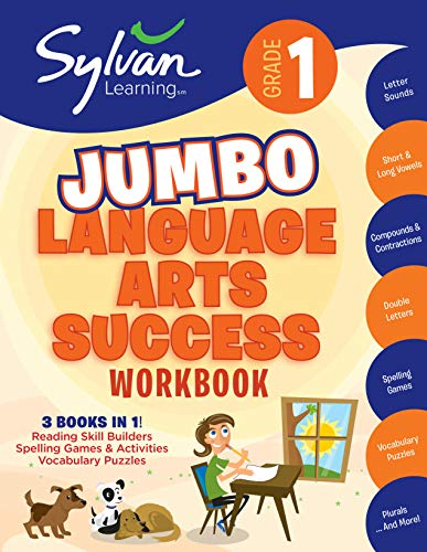 9780375430305: 1st Grade Language Arts Success: Activities, Exercises, and Tips to Help Catch Up, Keep Up, and Get Ahead (Sylvan Language Arts Super Workbooks)