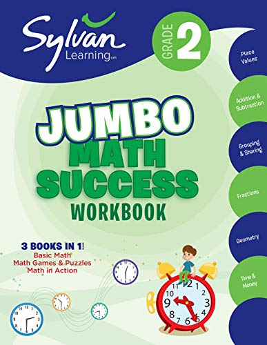9780375430503: 2nd Grade Super Math Success: Activities, Exercises, and Tips to Help Catch Up, Keep Up, and Get Ahead (Sylvan Math Super Workbooks)