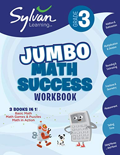 9780375430510: 3rd Grade Super Math Success: Activities, Exercises, and Tips to Help Catch Up, Keep Up, and Get Ahead (Sylvan Math Super Workbooks)