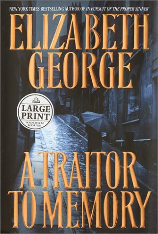 9780375431135: A Traitor to Memory (Random House Large Print)