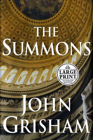 9780375431487: The Summons (Random House Large Print)