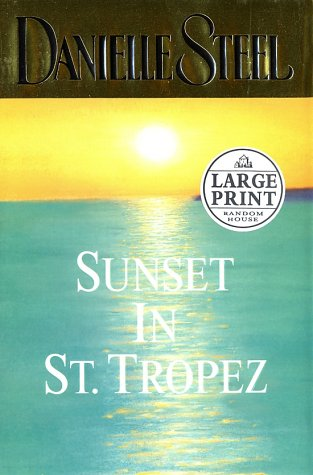 9780375431692: Sunset in St. Tropez (Random House Large Print)