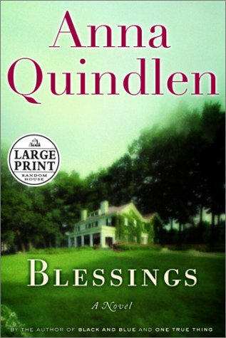 9780375431845: Blessings (Random House Large Print)