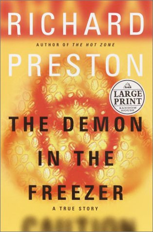 9780375431869: The Demon in the Freezer (Random House Large Print)