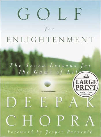 9780375431937: Golf for Enlightenment: The Seven Lessons for the Game of Life (Random House Large Print)