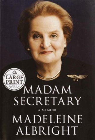 9780375432156: Madam Secretary (Random House Large Print Biography)
