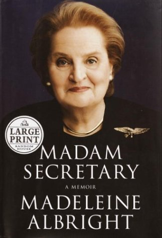 9780375432156: Madam Secretary (Random House Large Print Biography)