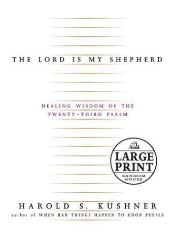 9780375432170: The Lord Is My Shepherd (Random House Large Print)