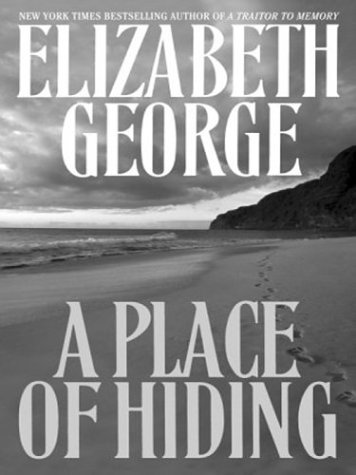 9780375432279: A Place of Hiding (George, Elizabeth (Large Print))