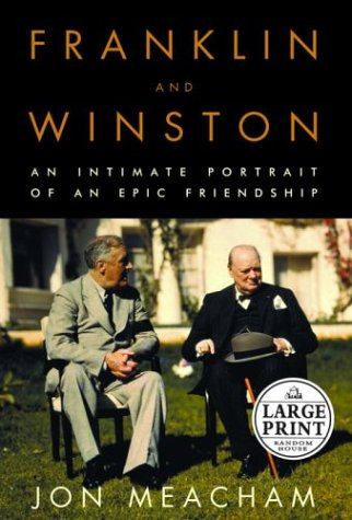 Franklin and Winston: An Intimate Portrait of an Epic Friendship (Random House Large Print): ...