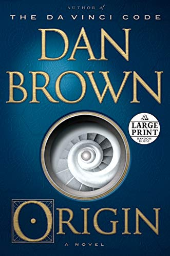 9780375434549: Origin: A Novel (Random House Large Print)