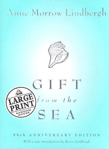 9780375434556: Gift from the Sea: 50th Anniversary Edition (Random House Large Print Biography)