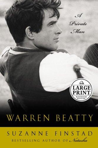 9780375434624: Warren Beatty: A Private Man (Random House Large Print)