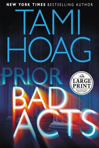 9780375435423: Prior Bad Acts (Random House Large Print)
