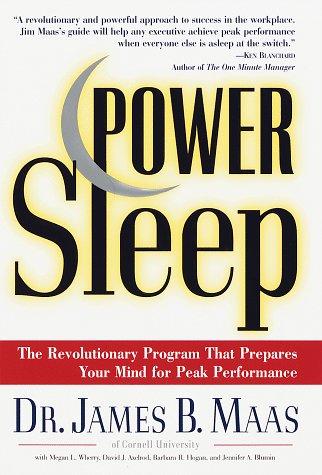 9780375500954: Power Sleep : The Revolutionary Program That Prepares Your Mind for Peak Performance