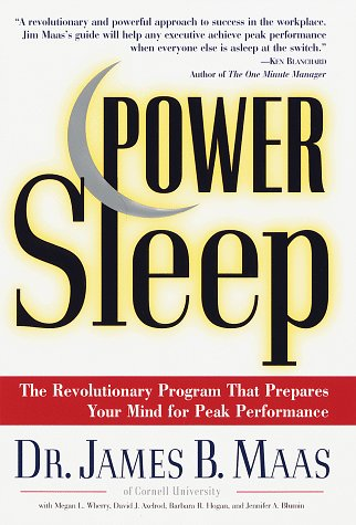9780375500954: Power Sleep : The Revolutionary Program That Prepares Your Mind for Peak Performance