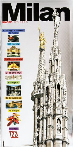 9780375702563: Milan (Knopf City Guides)