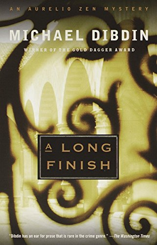 9780375704017: A Long Finish: An Aurelio Zen Mystery