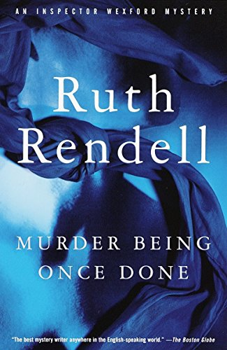 9780375704888: Murder Being Once Done (Vintage Crime/Black Lizard)
