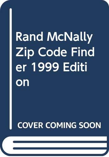 Rand McNally Zip Code Finder 1999 Edition (0375706747) by Random House