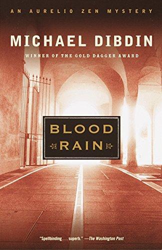 9780375708305: Blood Rain: An Aurelio Zen Mystery