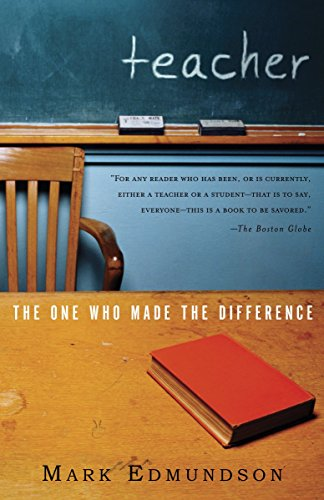 9780375708541: Teacher: The One Who Made the Difference