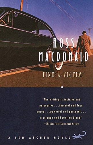 Find a Victim: A Lew Archer Novel: MacDonald, Ross
