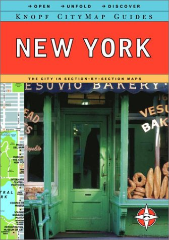 Citymap Guide: New York: Knopf Guides; Knopf Guides Staff