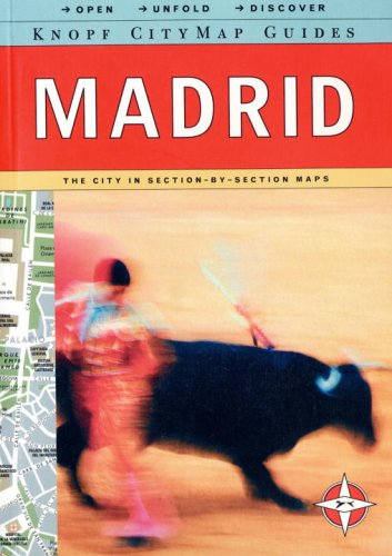 Knopf MapGuide: Madrid (Knopf City Map Guides): Knopf Guides