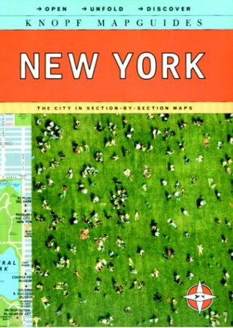9780375710636: Knopf Mapguide New York: The City in Section-By-Section Maps