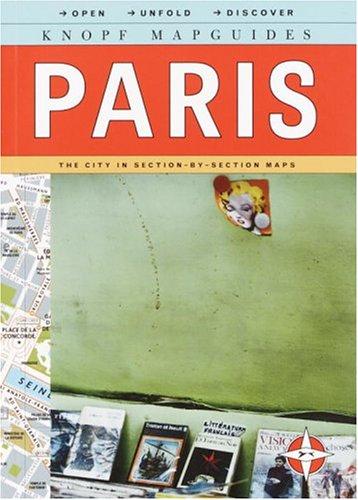 9780375710650: Knopf Mapguide: Paris
