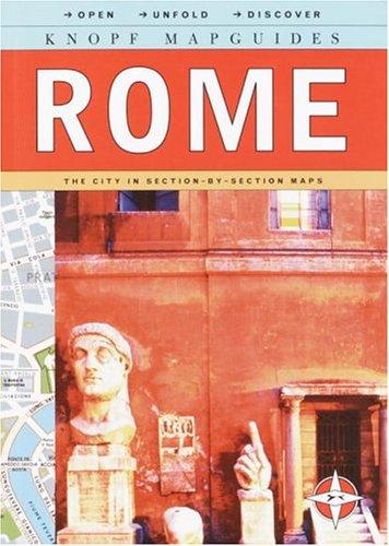 9780375710674: Knopf Mapguide: Rome