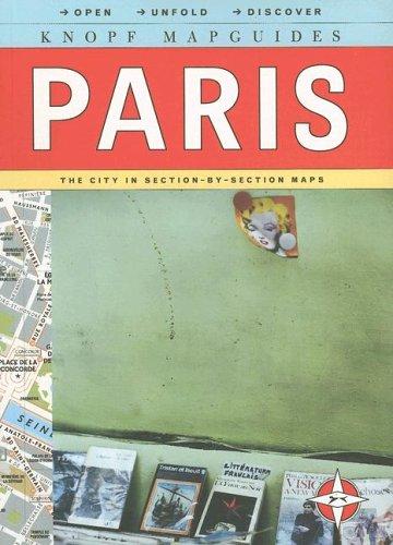 9780375710988: Knopf MapGuide: Paris (Knopf Mapguides)