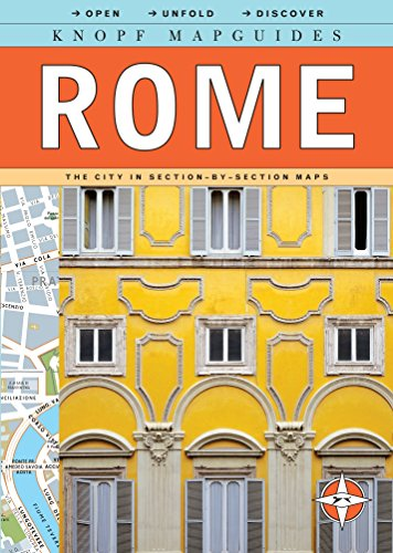 Knopf Mapguides: Rome: The City in Section-by-Section: Knopf Guides