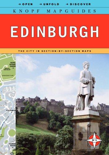 9780375711305: Knopf Mapguide Edinburgh